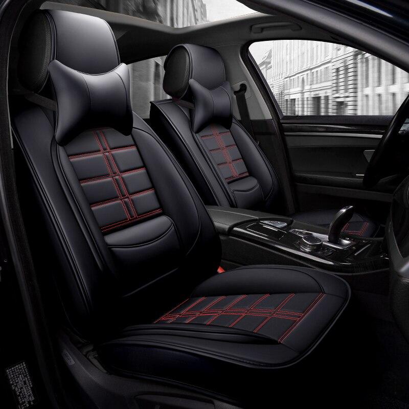 Nouveau siège auto en cuir synthétique polyuréthane couvre pour Cadillac cts srx Chevrolet captiva chevy cruze epica equinox lacetti malibu spin trailblazer
