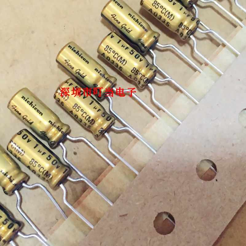 Nichicon MUSE FG Fine Gold UFG0J332MHM 3300uF 6,3V 16x25mm RM7 5 NEW 1 PC
