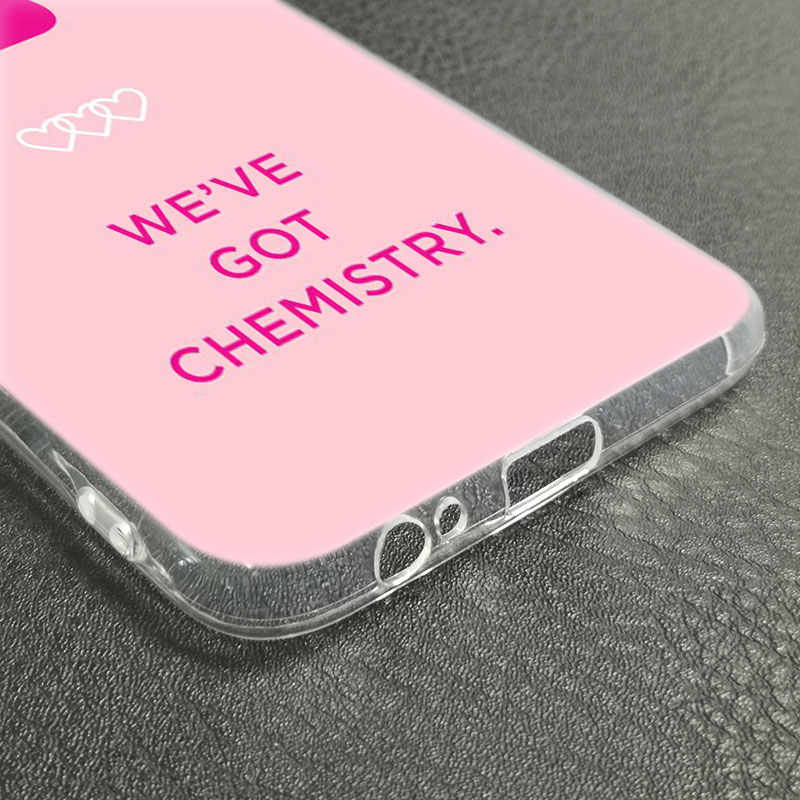 DNA Biologia Química de luxo Soft Case de Silicone para Samsung Galaxy J8 J7 J6 J4 J2 2018 Núcleo J3 2016 J5 2017 UE J4 Plus J7 Prime
