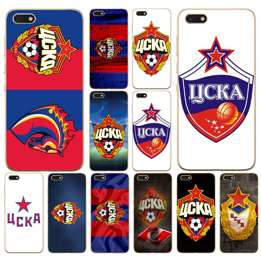 105DD PFC CSKA Moscow Soft Silicone <font><b>Cover</b></font> Case for Huawei <font><b>honor</b></font> <font><b>9</b></font> 10 <font><b>Lite</b></font> 7A 5.45 7a pro 7c 5.7 inch 7x 8x case image
