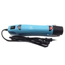 220 В 300 Вт горячий воздух для самостоятельного использования, электрический фен для волос, инструмент горячего воздуха для пайки тепла, промышленный с поддерживающим тиснением, штепсельная вилка европейского стандарта