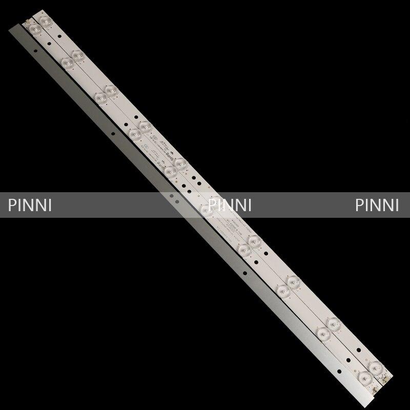 FOR TCL LE32D59LE32D99 4708-k320wd-a4211v11 A4211V01 LED Strip  A Set Of 3 LED Lights With 10 Lights 63.2cm