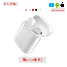 I7s Tws Wireless Earbuds True Sterio Handsfree Bluetooth 5.0 TWS Earphone i7s Stereo Earphones For iPhone huawei Xiaomi