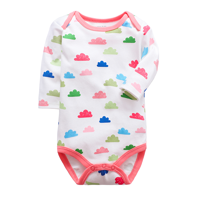 Newborn Toddler Infant Baby Girl Jumpsuit Romper Cotton Long Sleeve 0-24 Months Playsuit Outfits Cute Cartoon Clothes | Happy Baby Mama