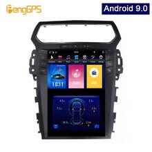 """Android 9,0 Syetem 4G + 64G Auto GPS Navigation für Explorer 2011 2019 Tesla Vertikale 12.1 """"bildschirm PX 6 DVD Player 1920*1080 Einheit"""