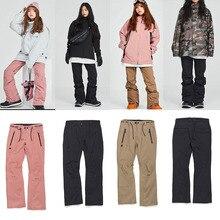 Dmt. Pstmm мужские и женские лыжные брюки водонепроницаемые горные длинные лыжные брюки талии молния карман леггинсы светильник многоцветные Штаны унисекс