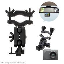 Supporto per staffa per registratore di guida per specchietto retrovisore per auto rotante a 360 gradi per YI Cam DVR videocamera DVR staffa di montaggio nuovo