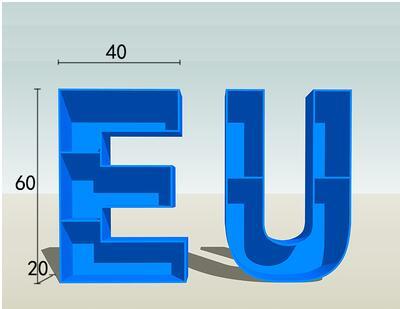 Креативные кованые буквы полки для книжных шкафов классная комната, для стен Висячие книжные витрины полки китайский и английский - 1