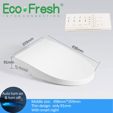 Smart-Toilet-Seat-Cover Heating-Wc Electronic Ecofresh Clean Intelligent Child
