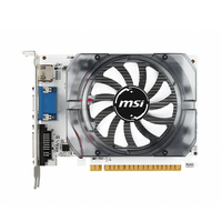 MSI Gaming GeForce GT 710 N730 2GD3 V3 2GB GDRR3 HDCP Support DirectX 12 OpenGL 4.5 Single Fan Low Profile Graphics Card 2