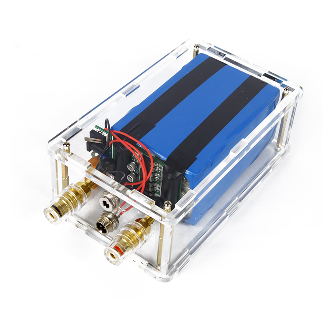 DIY Portable Spot Welder Lithium Battery Powered Spot Welder With Acrylic Shell For Kids Developmental Early Educational Toys