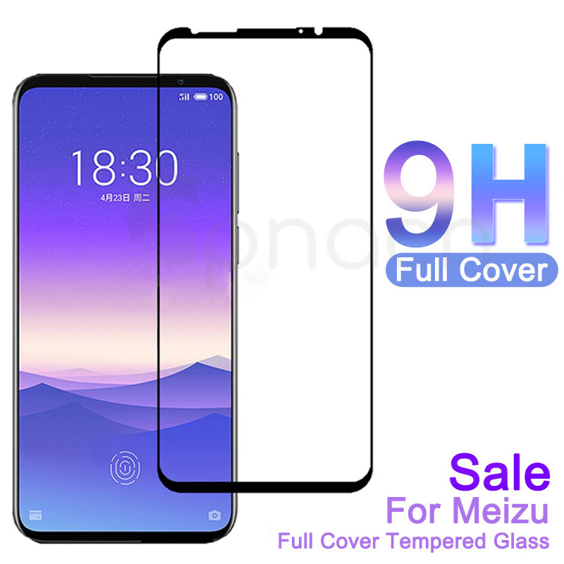 9D Full Curved Tempered Glass For Meizu 16 Th Plus 16S 16X 16XS X8 Note 8 9 M8 Pro 7 Plus Screen Protector Protective Glass Film