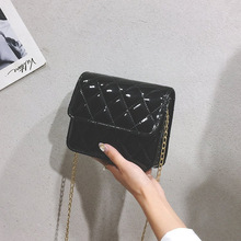 New Fashion Wild Bags for Women 2019 Luxury Designer Purse Crossbody Flap PU Polyester Clutch
