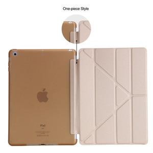 Image 5 - TPU מקרה עבור 10.2 iPad פרו 10.5 אוויר 3 2019 חכם מקרה דוכן מגנטי מקרה עבור iPad 9.7 מקרה 2017 2018 5th 6th Tablet כיסוי + עט