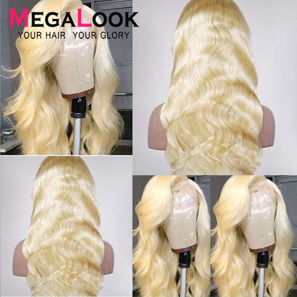 Blonde Lace Front Wig Body Wave Wigs For Black Women Hd Lace Wig Humain Hair 613 Wig Remy Hair 180% Brazilian Body Wave Wigs
