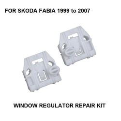 Regulador WIDNOW para SKODA Fabia, KIT de CLIP regulador de ventana eléctrica, frontal-izquierda 1999-2007