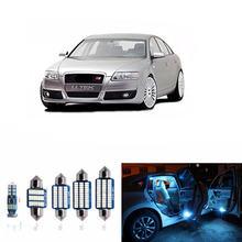 18 шт canbus светодиодный Автомобильный светильник лампы Подсветка