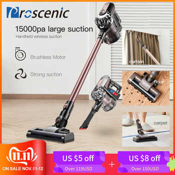 Proscenic P8 PLUS Protable 2 In 1 Handheld Wireless Cordless Vacuum Cleaner Cyclone 15000Pa Strong Suction Dust Collector - DISCOUNT ITEM  61% OFF All Category