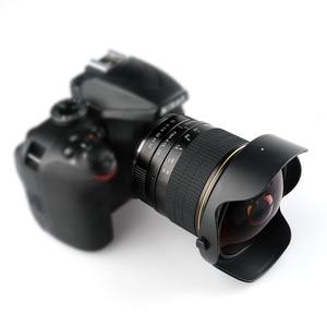 Image 5 - Lightdow 8mm F/3.0 Manual Ultra Wide Angle Fisheye Lens for Canon Half Frame Cameras 1200D 760D 750D 700D 750D 600D 70D 60D 77D