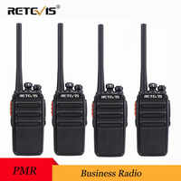4pcs Retevis RT24 Walkie Talkie PMR446 UHF 0.5W 16CH License-Free VOX Scan Ham Radio Hf Transceiver A9123