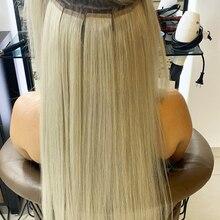 Пряди волос на лентах