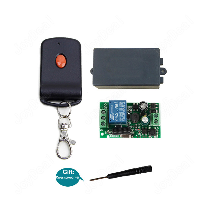 1 433mhz universal ac 220v 110v wireless rf remote control switch