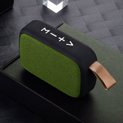 #H25 New Mini Portable Speaker Bluetooth Speaker Outdoor Bicycle Wireless Speaker Mini Column Box Loudspeaker FM TF Gift