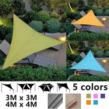 Canopy Awning Pool-Tents SUN-SHELTER Patio Garden Triangle Outdoor Waterproof Camping