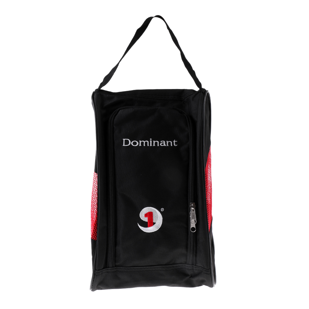 Waterproof Lightweight Breathable Golf Shoes Bag Travel Case Storage Carry Bag Black Red Blue