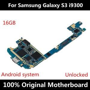 Image 3 - Scheda madre originale per Samsung Galaxy S3 i9300 i9305 I9300I I9301IUnlocked scheda madre con chip IMEI Android OS Logic Board