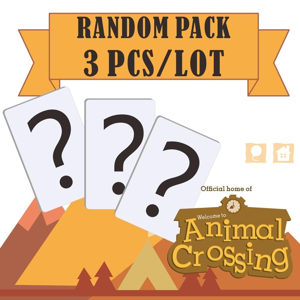 Randomly Ship 3pcs Animal Crossing Amiibo Game Crooss Card Series  Season 3 Animal Crossing Card Amiibo Card Work For Ns Games