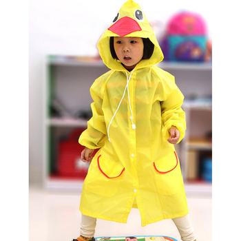 2019 nowy śliczny dziecięcy płaszcz przeciwdeszczowy koreański dziecięcy sprzęt przeciwdeszczowy Poncho dziecięce artykuły gospodarstwa domowego plac zabaw tanie i dobre opinie AOZBZ waterproof polyester