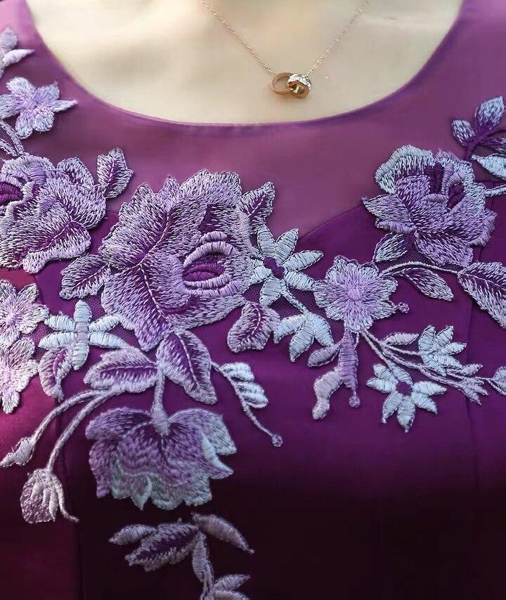 tailor shop custom made jacket dark purple dress mother of the bride dress with jacket wedding dress mother mother of bride suit