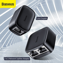 Baseus High Speed 1 to 2 Network Splitter Adapter Line Coupler RJ45 100M Stable Transmission Fast Speed Splitter Network Adapter towards ultra high speed online network traffic classification