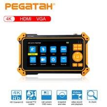 Pegatah 5 дюймовый монитор cctv тестер Портативный мини для