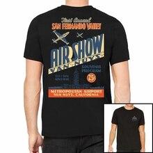 Camiseta Retro Vintage para hombre de Van Nuys Airshow (2)