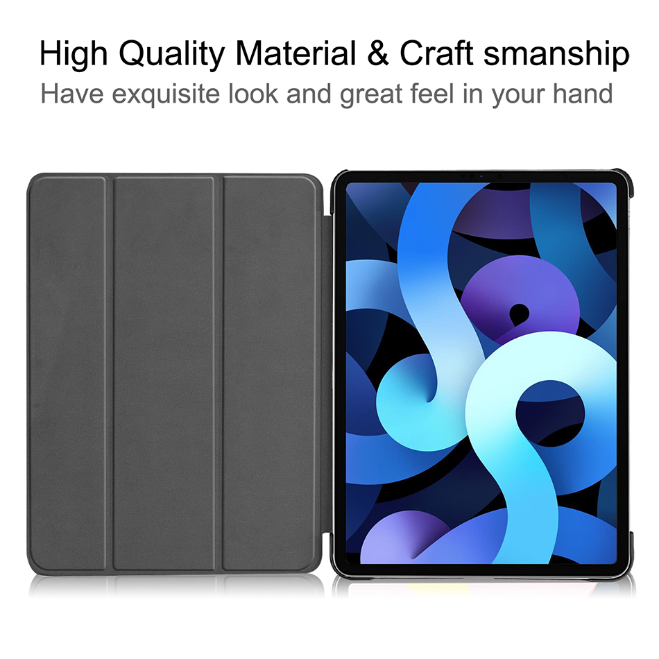 Sanmubaba 2020 Cover Case For iPad Pro Air 10 9 inch 4th Generation Slim PU Leather
