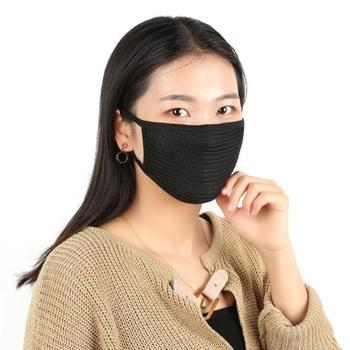 10/5/1Pcs Black Fashion Unisex Cotton Face Mouth Mask Outdoor Windproof Face Masks Health Care