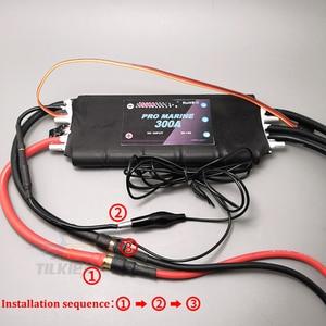 Image 2 - Rcボート300Aブラシレス水冷esc 3s 16高電圧esc