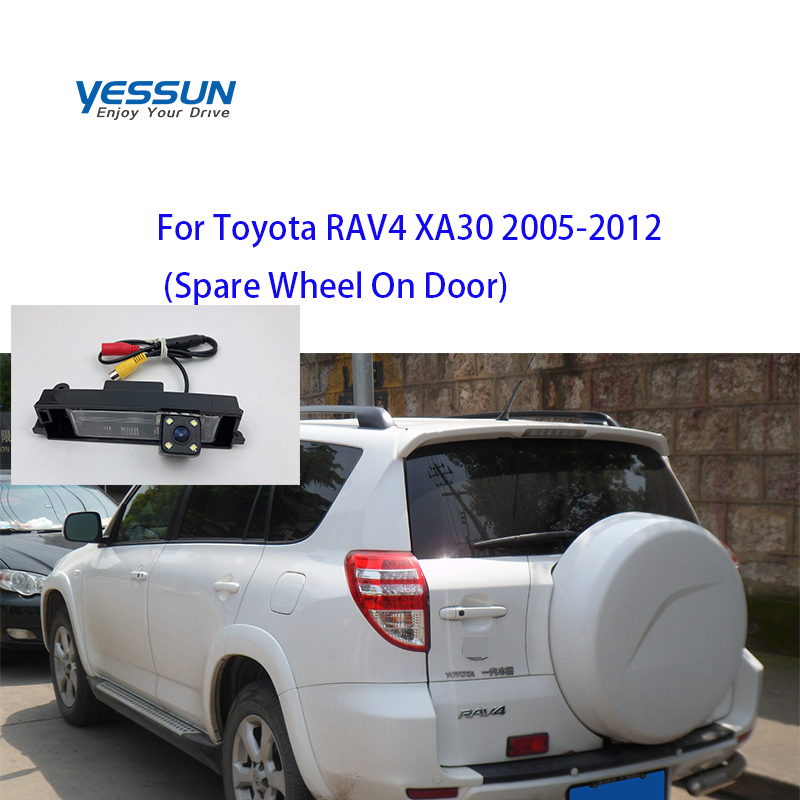 Yessun rear camera For Toyota RAV4 <font><b>RAV</b></font> <font><b>4</b></font> XA30 2003 <font><b>2004</b></font> 2005 2006 2007 2008~2012 <font><b>RAV</b></font> <font><b>4</b></font> 2008 rear view camera image