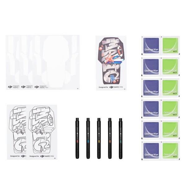DJI Mavic Mini DIY Creative Kit For DJI Mavic Mini Sticker Set Hand Draw Skin For Mavic Mini Drone Accessories