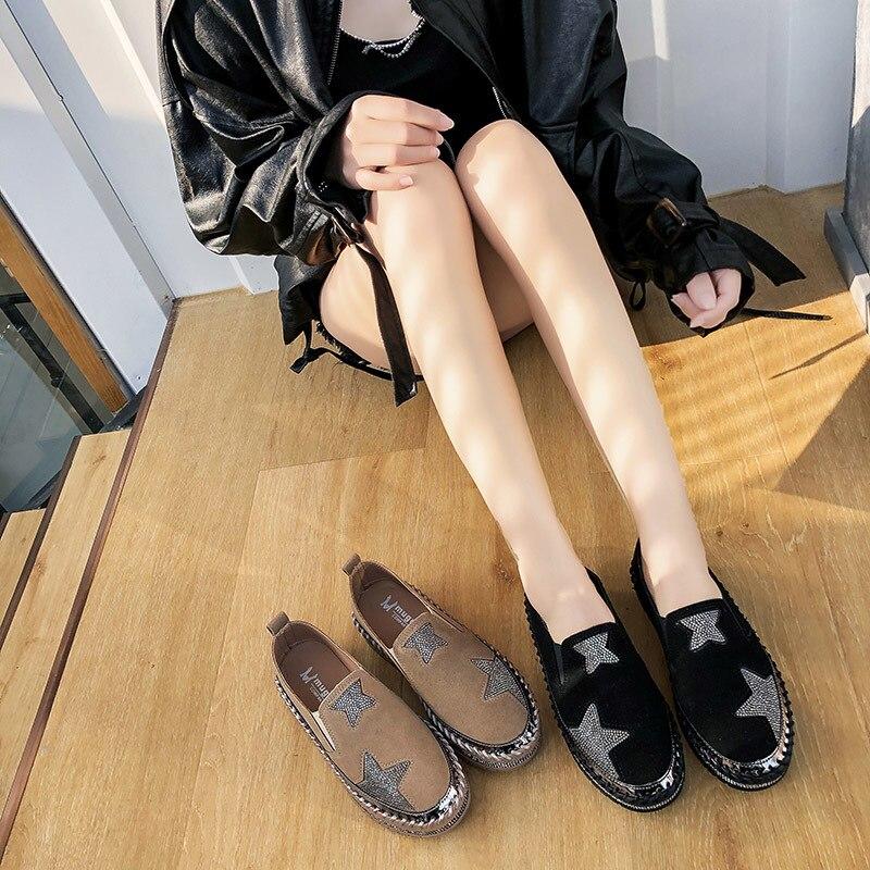 Primavera outono tênis mulher sapatos casuais sapatos