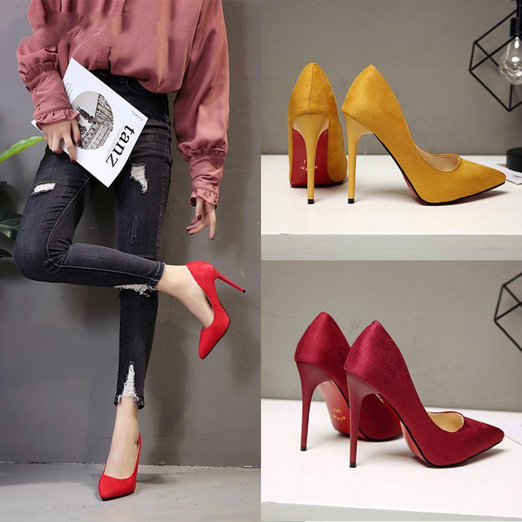 Stiletto Heel High Pumps Women Sexy Leopard Pumps Pointed Toe Shoes Female Shallow Party Shoes Ladies Autumn 2020 New