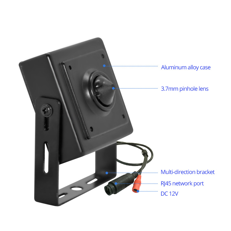 Wheezan Mini HD камера сигурност 2MP Onvif H.265 CCTV - Сигурност и защита - Снимка 6