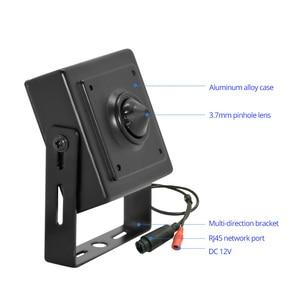 Image 5 - Wheezan Mini HD aparatu bezpieczeństwa 2MP Onvif H.265 CCTV POE kamera IP 12V 1080P Audio P2P widzenie w nocy domu kamery monitorujące