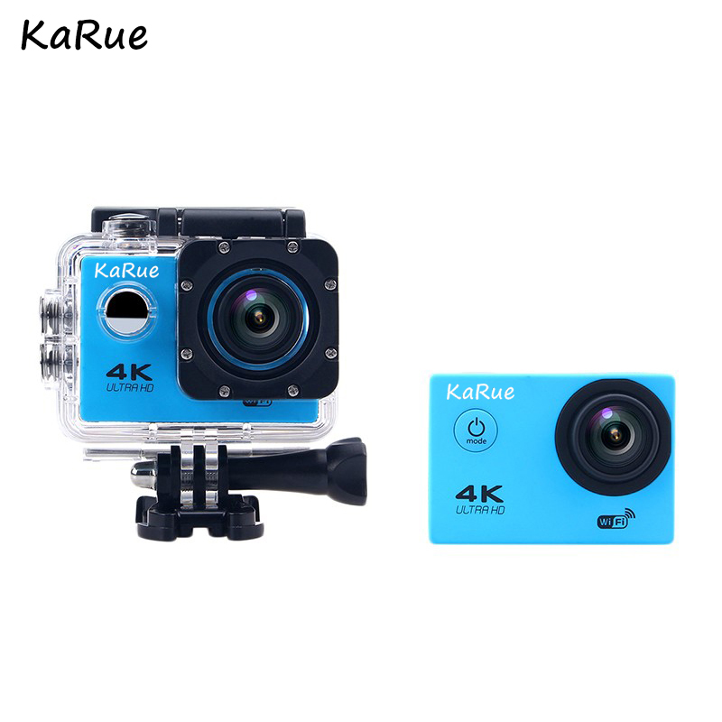 Hot Action Camera WiFi Ultra HD 4K Underwater 30M 2.0 LCD 1080p 60fps170D Lens Helmet Cam Waterproof Pro Sports Camera Camaras image