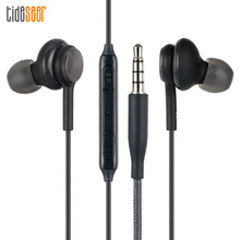 10 pièces/lot haute qualité S8 écouteurs EO IG955 3.5mm dans loreille stéréo écouteur avec micro pour Samsung Galaxy S6 /S8 Samsung téléphones