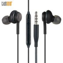 Auriculares S8 de alta calidad, 10 unids/lote, EO IG955, 3,5mm, intrauditivos, estéreo, con micrófono, para teléfonos Samsung Galaxy S6 /S8 y Samsung