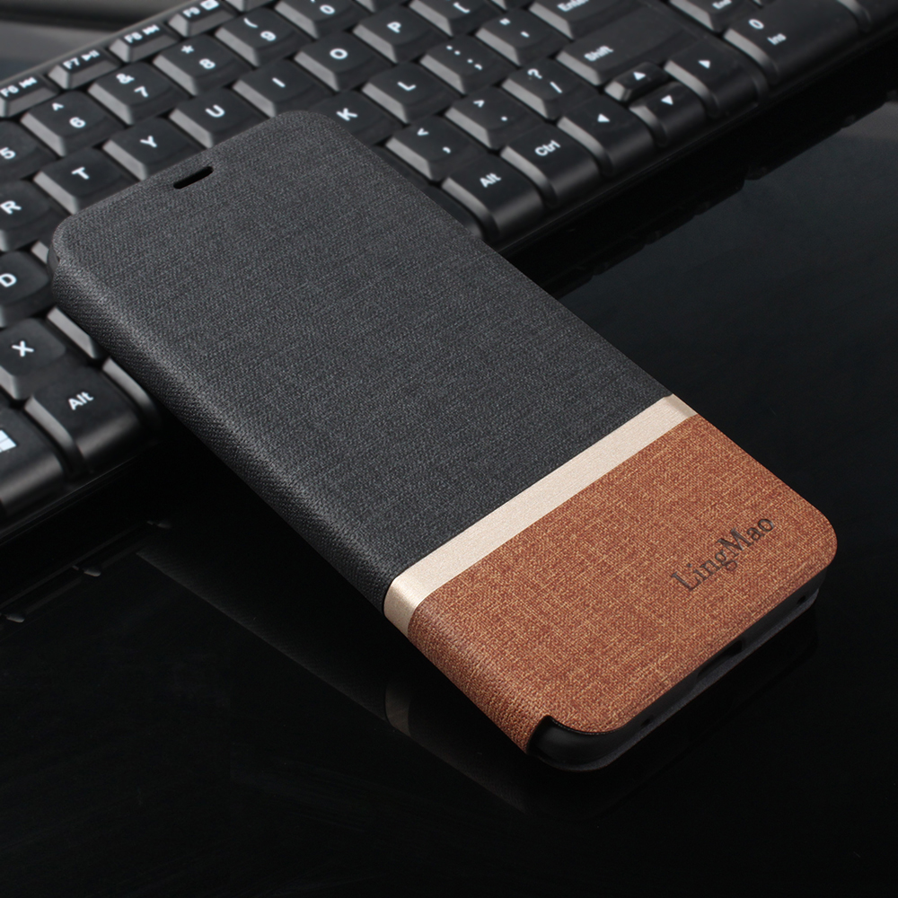 flip case For <font><b>iphone</b></font> 8 Plus <font><b>Leather</b></font> phone Case For Apple <font><b>iphone</b></font> Xs Max XR X SE <font><b>6</b></font> 6s 7 Plus PU <font><b>Cover</b></font> Card Slot Stand funda fabric image