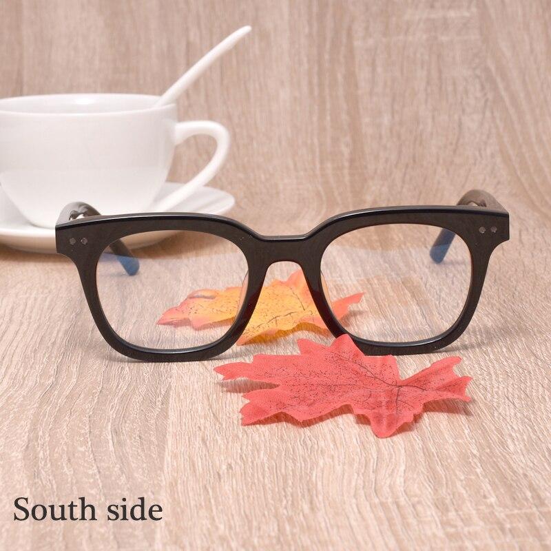 Korea Brand Designer Eyeglasses Frame Optical Frames   Eyeglasses Prescription GENTLE South Side Men Women Myopia Frames